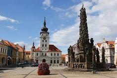 Česko, Žatec - Náměstí Svobody Czech Republic, Notre Dame, Cities, Bohemia