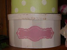 Schachtel Set Shabby chic Box Tilda Karo & Dots - Schachtelliebe von Galerissimo - Schachteln & Schatullen - Aufbewahrung - DaWanda