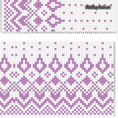 This post was discovered by Jo Fair Isle Knitting Patterns, Fair Isle Pattern, Knitting Charts, Knitting Stitches, Knitting Designs, Knitting Socks, Knit Patterns, Beading Patterns, Cross Stitch Patterns