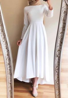 Hijab Prom Dress, Hijab Evening Dress, Hijab Style Dress, Modest Fashion Hijab, Modern Hijab Fashion, Hijab Outfit, Muslim Fashion, Fashion Dresses, Casual Summer Dresses