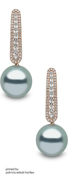 Rose Earrings, Wedding Earrings, Pearl Earrings, Pearl Jewelry, Diamond Jewelry, Fine Jewelry, Jewlery, Sapphire Necklace, Ring Necklace