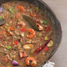 Oyster and Seafood Gumbo from Louisiana Cookin'
