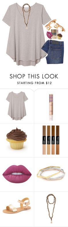 """""""Almost wish time"""" by livnewell ❤ liked on Polyvore featuring Olive + Oak, tarte, Lime Crime, West Coast Jewelry, Jewelry for a Cause and Cheap Monday"""