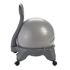 Gaiam Balance Ball Chair - Classic Yoga Ball Chair ab8f8d3c4650