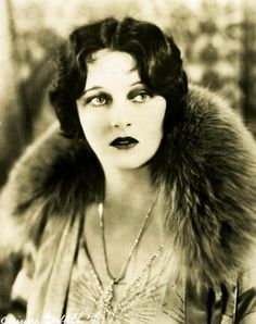 """Corinne Griffith, called """"The Orchid Lady of   the Screen"""", was one of the most popular film actresses of the 1920's."""