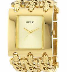 Guess Ladies Quartz Watch - 10544L1 Target Audience : Lady - Style : Fashion - Item Shape : Rectangular - Colors : Gilt - Materials : Stainless steel - Dimensions : 3.7cm x 4.7cm - Movement Type : Quartz - (Barcode EAN = 4051068012616) http://www.comparestoreprices.co.uk/ladies-watches/guess-ladies-quartz-watch--10544l1.asp