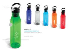 We supply Hydrate Water Bottle - and other wholesale Corporate Gifts Drinkware and Food Plastic Drinkware in South Africa, Johannesburg and Cape Town Promotional Water Bottles, Pretty Packaging, Gadget Gifts, Corporate Gifts, Drinking Water, Drinkware, Health Products, Arrow Keys, Close Image