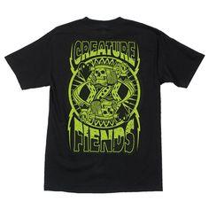 Creature Skateboards T-Shirts - Hesh Kings