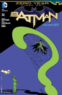 Dc Comics, Batman Comics, Comic Book Covers, Comic Books Art, Comic Shop, Marvel E Dc, Comic Book Collection, Story Titles, Greg Capullo