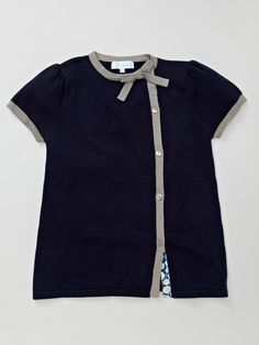 Girls: Side Button Sweater by Marie Chantal on Gilt.com