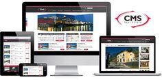 Professional CMS Real Estate Agent Websites that work. The complete solution for your Real Estate Agency. #Navega Bem #Web Design