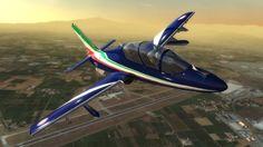 Frecce Tricolori Flight Sim, il gioco ufficiale dell'aviazione militare
