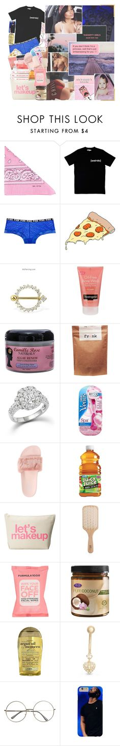 """untitled :. 10:24 ρм"" by pink-kitties ❤ liked on Polyvore featuring beauty, NLY Accessories, Illustrated People, Tattly, Neutrogena, Paul Frank, Bloomingdale's, Gillette, Puma and Dogeared"