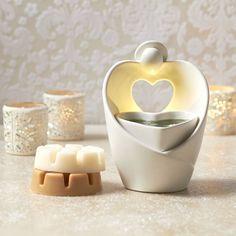 Angel Heart ScentGlow Warmer Adorable!  Led warmed, no bulbs to change, ever! www.partylite.biz/WojoD