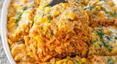 Weight Watchers Recipes | Mexican Chicken and Rice Casserole