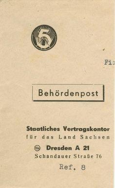 Dresden Funfjahresplan Behordenpost