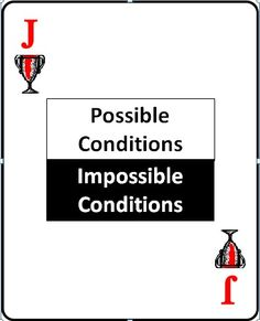 JACK OF TROPHIES: POSSIBLE CONDITIONS / Impossible conditions