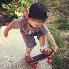 little skater - precious child