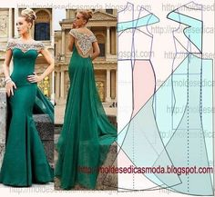 f487058d00 All things sewing and Pattern making ~ Sewing patterns of evening gown
