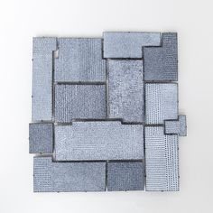 Jessica Turrell, 'Field' enammelled brooches