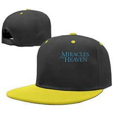 NCKG Miracles From Heaven Fans Boys & Girls Caps Hat Mesh Back, Yellow - Brought to you by Avarsha.com