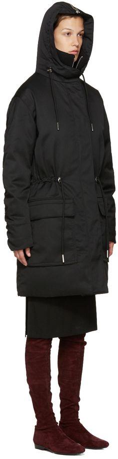Acne Studios - Black Alston Tech Coat