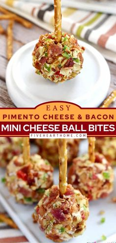 Cheese Appetizers, Yummy Appetizers, Appetizer Recipes, Bacon Recipes, Real Food Recipes, Dip Recipes, Easy Delicious Recipes, Yummy Food, Simple Recipes