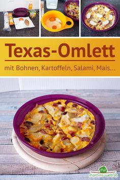 Super lecker! Das Rezept findest du ab JETZT auf meinem Blog. Omelette, Cheeseburger Chowder, Super, Oatmeal, Eggs, Breakfast, Blog, Food Food, Omelet
