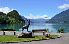 Iseltwald at Lake Brienz