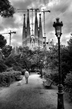 Barcelona, La Sagrada Familia, Catalan artist Antoni Gaudí, Catalunya