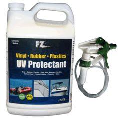 Flitz Marine/RV UV Protectant w/SPF 50 - 1 Gallon (128oz) Refill