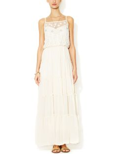 Stardust Maxi Dress by Free People at Gilt #white maxi