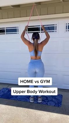 Band Workout, Gym Workout Videos, Gym Workout For Beginners, Fitness Workout For Women, Sport Fitness, Gym Workouts, At Home Workouts, Fitness Tips, Exercice Step