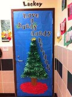 80 best Teacher Christmas Door Decorations images on Pinterest in ...
