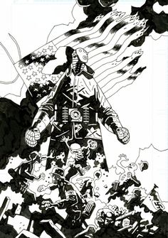 Sledgehammer #44 p.1 by Mike Mignola