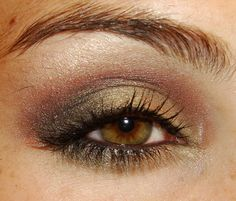A look from Wet N Wild's Comfort Zone Palette #makeup #beauty