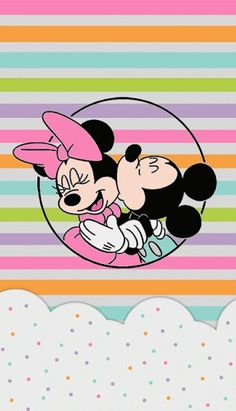 Negro Y Mickey White Mouse Wallpaper