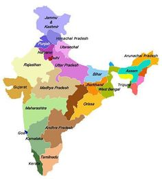clear picture of indian map 41 Best Map Of India With States Images India Map India Images Map clear picture of indian map