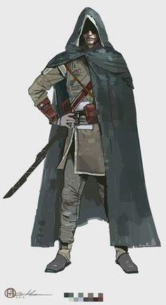 Human Rogue - Pathfinder RPG PFRPG DND D&D d20 fantasy