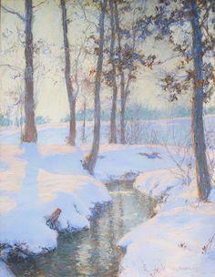 Walter Launt Palmer - American (1854 - 1932), Impressionist, Landscape Artist…