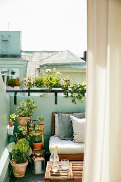 Put in the finishing touches. Add final decorating touches with vases, candles, and other accents to finish off the space. Treat your balcony as you would any other room in your house to get a...
