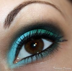Lime Crime Chinadoll eye make up, more photos: http://www.talasia.de/2012/11/05/amu-swatch-lime-crime-chinadoll-eyeshadow-palette/