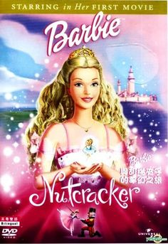 5 Barbie DVDs Nutcracker Swan Lake Rapunzel Magic of Pegasus 3D Mariposa   eBay