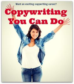 Copywriting Course Online: Want to Get Started Copywriting? If you're a beginning copywriter, and are looking for a copywriting course online, this course will get you started, with no previous experience needed: http://www.fabfreelancewriting.com/blog/2014/01/28/copywriting-course-online-want-get-started-copywriting/