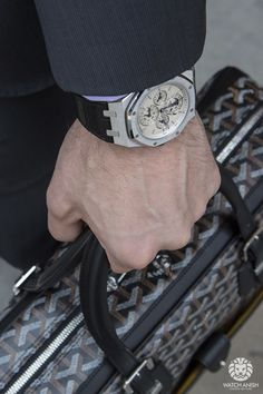 Audemars Piguet Royal Oak Equation of Time x Goyard Ambassade. I need these things Goyard Luggage, Goyard Bag, Men's Watches, Cool Watches, Ap Royal Oak, Gentleman Watch, Audemars Piguet Royal Oak, Mens Style Guide, Luxury Watches For Men