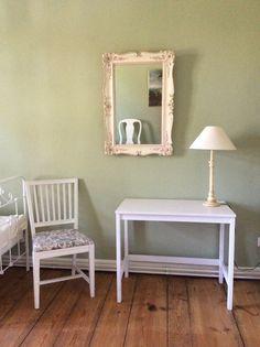 Gästezimmer im französischen Stil - gestrichen in 'Manzana'