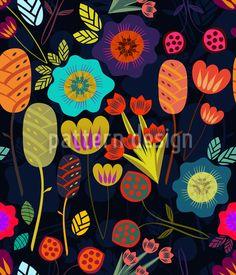 'Magical night garden' Floor Pillow by Anny Cecilia Walter Garden Floor, Garden S, Cats Outside, Design Jardin, Garden Drawing, Canvas Prints, Art Prints, Floral Illustrations, Flower Art