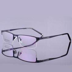 acc3e01d918a8 Optical Eyeglasses Frame Men Computer Eye Glasses Spectacle Alloy