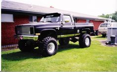 Old Chevy Trucks Lifted