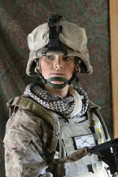 US female marine ;)